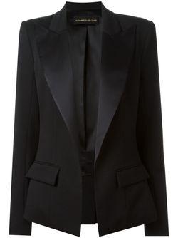 Пиджак С Заостренными Лацканами Alexandre Vauthier                                                                                                              чёрный цвет