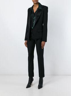 Пиджак С Заостренными Лацканами Alexandre Vauthier                                                                                                              черный цвет