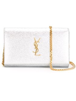 Сумка На Плечо Classic Monogram Saint Laurent                                                                                                              серебристый цвет