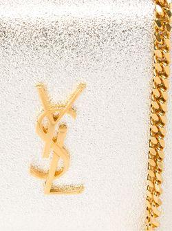 Сумка На Плечо Classic Monogram Saint Laurent                                                                                                              серебристый цвет