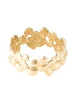 Кольцо С Зерненым Ободом Cobbled NATASHA COLLIS                                                                                                              серебристый цвет