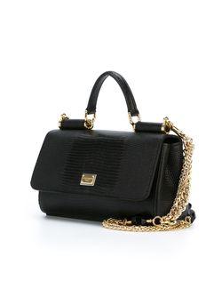 Маленькая Сумка На Плечо Miss Sicily Dolce & Gabbana                                                                                                              чёрный цвет