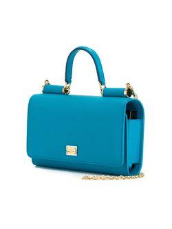 Маленькая Сумка Через Плечо Von Dolce & Gabbana                                                                                                              синий цвет