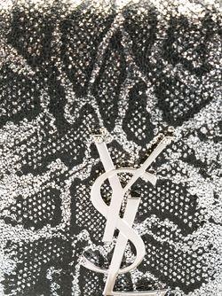 Сумка На Плечо Classic Monogram Saint Laurent                                                                                                              серый цвет