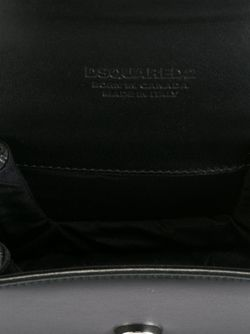 Сумка На Плечо С Логотипом Dsquared2                                                                                                              черный цвет