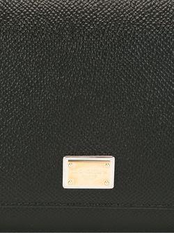 Мини Сумка Через Плечо Von Dolce & Gabbana                                                                                                              чёрный цвет