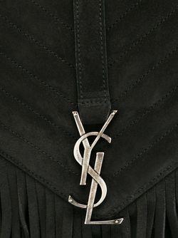 Средняя Сумка На Плечо Monogram Saint Laurent                                                                                                              черный цвет