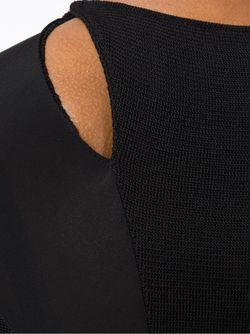 Платье Миди С Вырезными Деталями ESTEBAN CORTAZAR                                                                                                              черный цвет