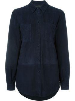 Классическая Рубашка Drome                                                                                                              синий цвет