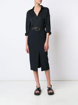 Рубашка Свободного Кроя Tomas Maier                                                                                                              черный цвет