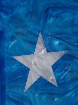 Клатч Jean Lone Star EDIE PARKER                                                                                                              белый цвет