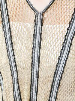 Сетчатая Полосатая Туника Missoni                                                                                                              многоцветный цвет