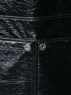 Платье-Шифт Без Рукавов Courreges                                                                                                              чёрный цвет