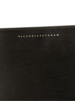 Маленькая Сумка В Форме Полумесяца Victoria Beckham                                                                                                              черный цвет