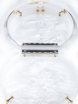 Клатч Oscar В Полоску EDIE PARKER                                                                                                              белый цвет