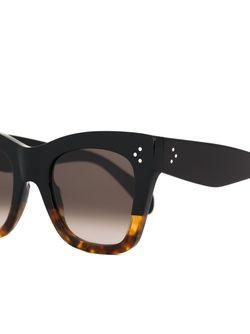 Солнцезащитные Очки В Оправе Кошачий Глаз Céline                                                                                                              коричневый цвет
