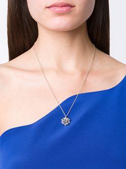 Ожерелье С Сапфиром Helix Frame JOHN BREVARD                                                                                                              серебристый цвет