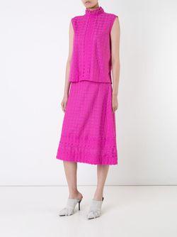 Топ С Вышивкой Спереди House Of Holland                                                                                                              розовый цвет