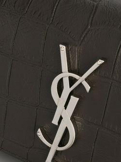 Маленькая Сумка На Плечо Monogram Saint Laurent                                                                                                              серый цвет