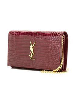Средняя Сумка На Плечо Kate Monogram Saint Laurent                                                                                                              розовый цвет