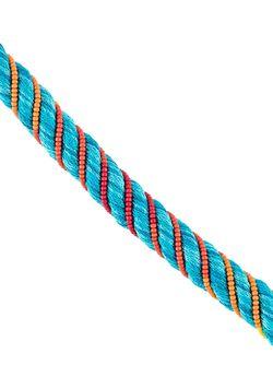 Maya Beaded Bracelet Aurelie Bidermann                                                                                                              синий цвет