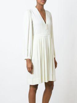Платье Neil ISABEL MARANT ÉTOILE                                                                                                              Nude & Neutrals цвет