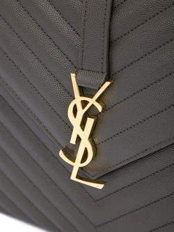 Большая Сумка-Сэтчел Monogram Saint Laurent                                                                                                              серый цвет