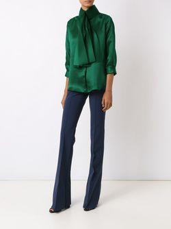 Bow Detail Shirt GLORIA COELHO                                                                                                              зелёный цвет