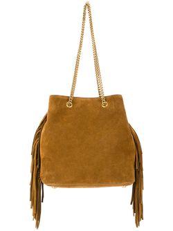 Классическая Сумка-Мешок Emmanuelle Saint Laurent                                                                                                              коричневый цвет