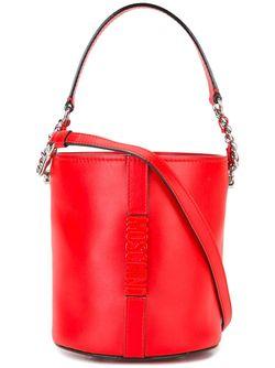 Сумка С Логотипом Moschino                                                                                                              красный цвет