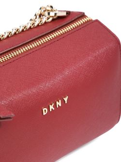 Сумка Через Плечо На Цепочке DKNY                                                                                                              красный цвет