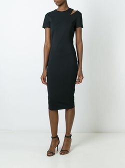 Облегающее Платье Victoria Beckham                                                                                                              чёрный цвет