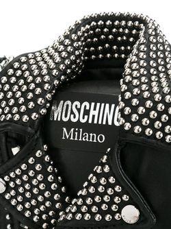 Сумка Через Плечо Moschino                                                                                                              чёрный цвет