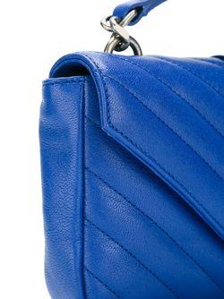 Сумка-Тоут Monogram Collège Мини Saint Laurent                                                                                                              синий цвет
