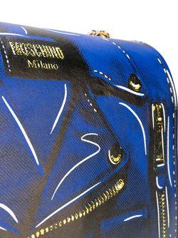 Сумка На Плечо Moschino                                                                                                              синий цвет