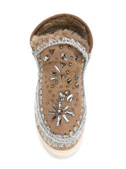 Зимние Ботинки Mou                                                                                                              Nude & Neutrals цвет