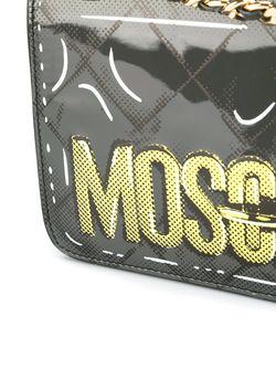 Сумка На Плечо Letters Moschino                                                                                                              серый цвет