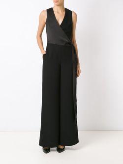 Tie Fastening Jumpsuit GIULIANA ROMANNO                                                                                                              чёрный цвет