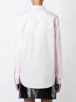 Классическая Рубашка Courreges                                                                                                              розовый цвет