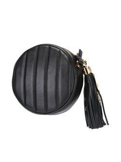 Сумка На Плечо С Подвеской В Виде Moschino                                                                                                              черный цвет