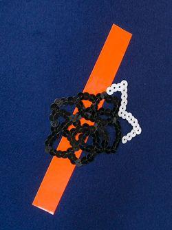 Юбка С Вышивкой В Виде Роз Christopher Kane                                                                                                              синий цвет