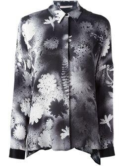 Блузка С Принтом Christopher Kane                                                                                                              черный цвет