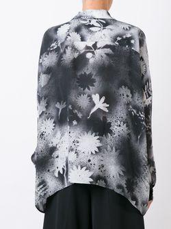 Блузка С Принтом Christopher Kane                                                                                                              чёрный цвет