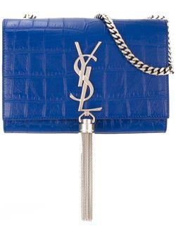 Сумка Через Плечо Classic Monogram Saint Laurent                                                                                                              синий цвет