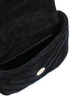 Стеганая Мини-Сумка College Saint Laurent                                                                                                              черный цвет