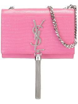 Маленькая Сумка Через Плечо Monogram Saint Laurent                                                                                                              розовый цвет