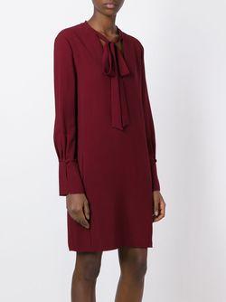 Платье С Завязками Chloe                                                                                                              красный цвет