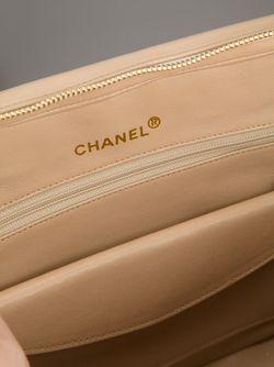 Стёганая Сумка Chanel Vintage                                                                                                              Nude & Neutrals цвет