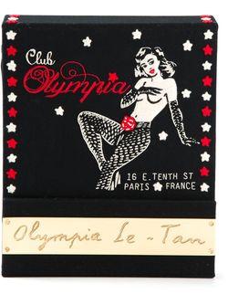 Клатч-Книга Olympia Le-Tan                                                                                                              черный цвет