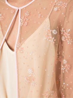 Кардиган С Цветочной Отделкой Mary Katrantzou                                                                                                              Nude & Neutrals цвет